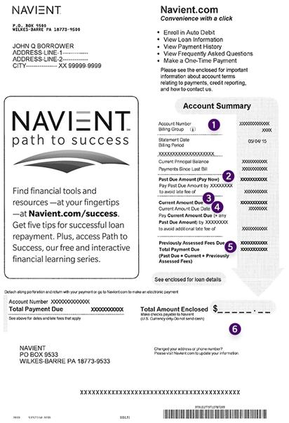 Navient | Understanding Your First Statement